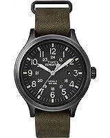 Timex Mens expédition scout 43 cadran noir TW4B06700