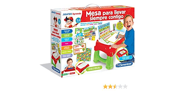 Clementoni - Mesa de Actividades (55137.8): Amazon.es: Juguetes y ...