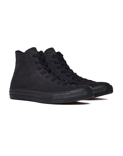 Converse - Zapatillas de Piel para Hombre Negro Negro, Color Negro, Talla 46,5 EU: Amazon.es: Zapatos y complementos