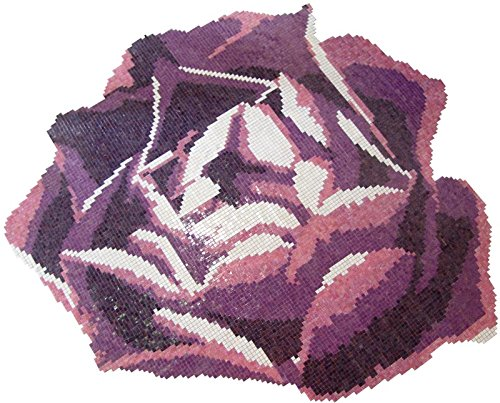 The Glass Mosaic Rose -