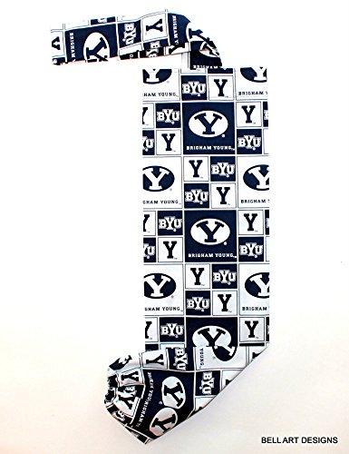 PLASTIC BAG ORGANIZER, Brigham Young University, Bell Art Designs, FBH0565 (Brigham Young University Fabric)