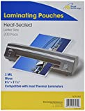 Royal Sovereign 3 Mil, 200 Count, Letter Size, Thermal Laminating Pouch, Clear (SCR-003)
