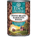 Eden Foods Organic Pinto Beans, 398ml (Pack of 12)