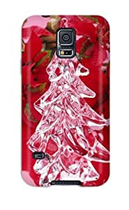 Flexible Tpu Back Case Cover For Galaxy S5 - Christmas Holiday Christmas