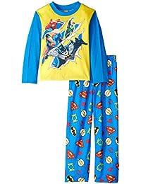 Big Boys Torn Heroes 2-Piece Pajama Set