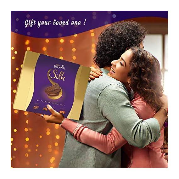 Cadbury Dairy Milk Silk Miniatures Chocolate Gift Pack, 200 g (Pack of 2)