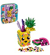 LEGO DOTS Pineapple Pencil Holder 41906 DIY Craft Decorations Kit, A Fun Craft kit for Kids who L...