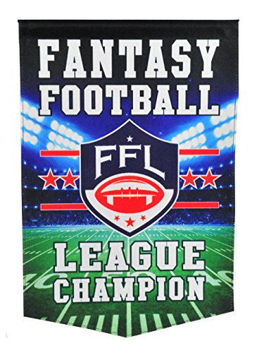 Winning Streak Fantasy Football League Champion Banner by Winning Streak