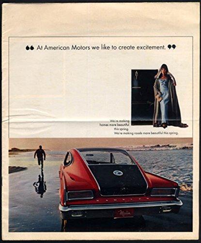 1965 American Motors rotogravure Marlin Ambassador Rambler American