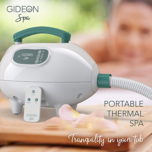 Gideon Luxury Portable Spa Relaxing Air Bath Tub Mat With