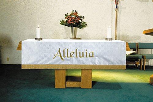 Christian Brands Church Supply VC752 Custom Altar Frontal - White