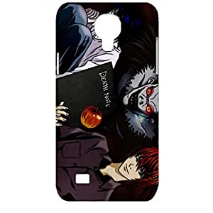 Samsung Galaxy S4 Mini Case Good-Looking Pattern Death Note 3D Durable Hard Plastic Phone Case
