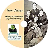 New Jersey History & Genealogy on DVD - 63 Books on Ancestry, Records, Family
