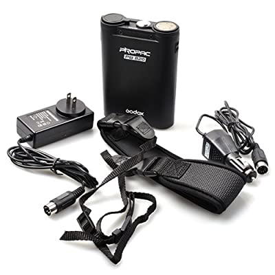 Image of Godox Portable Extended Flash Power Battery Pack for Canon 580EX2 Nikon SB900 Sony HVL-F58AM Olympus FL-50R Battery Packs