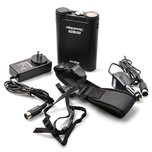 Godox Portable Extended Flash Power Battery Pack for Canon 580EX2 Nikon SB900 Sony HVL-F58AM Olympus FL-50R