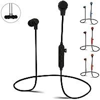 Sweatproof Wireless Bluetooth Earphones Headphones Sport Gym Compatible for iPhone Samsung