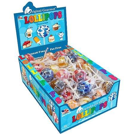 Original Gourmet Cream Swirl Lollipops, 1.1 oz, 48 count ()