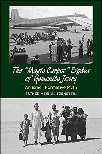 Amazon com: The Magic Carpet Exodus of Yemenite Jewry: An