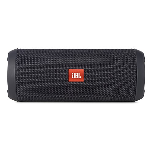 JBL Flip 3 Splashproof Portable Bluetooth Speaker, Black
