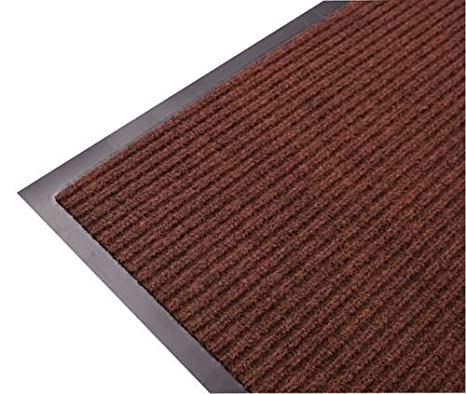 BROWN LARGE AND SMALL KITCHEN HEAVY DUTY BARRIER MAT NON SLIP RUBBER BACK DOOR HALL RUGS /… GREY TR BLUE