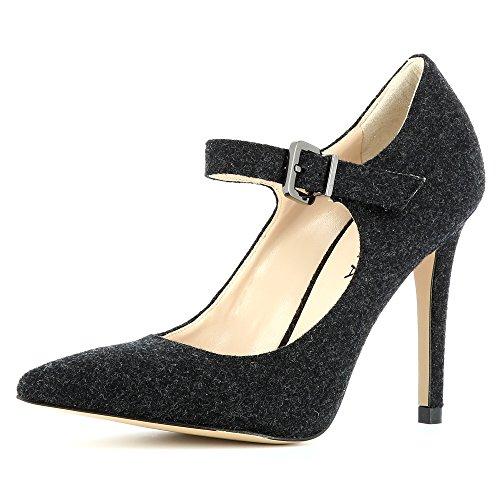 caño Medio ShoesALINA Evita Mujer negro 5wA61