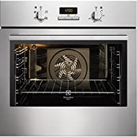 Electrolux FQ63XE Built-in Electric 72L 2780W A-10% Stainless steel - ovens (Built-in, Electric, A-10%, Stainless steel, Buttons, Rotary, Front)