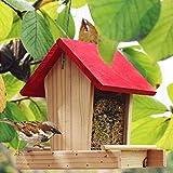 Bird Feeder Outdoor Bird Hanging Rainproof Balcony Villa