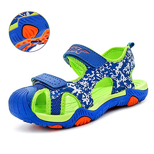 62c8660c2 WETIKE Kids Sandals Boys Athletic Sandals Girls Outdoor Water Shoes Summer  Beach Closed-Toe Sport