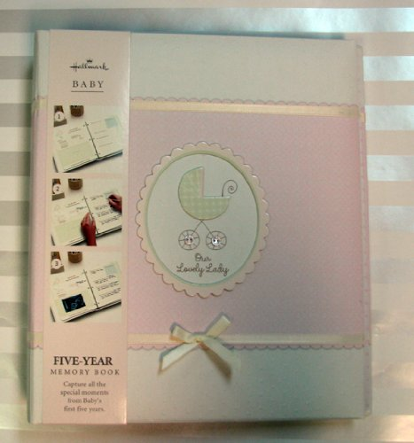 Hallmark Baby BBA7016 Our Lovely Lady Five Year Album