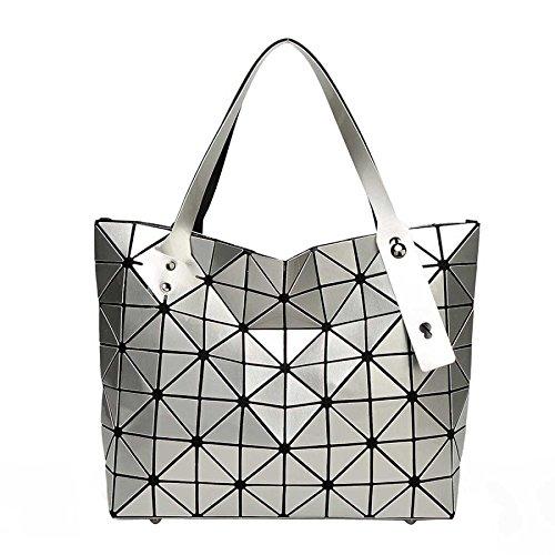 Géométrie Main Sac Bandoulière à Sacs Crossover Sac CY Lingge Bag Pliant Main Coréenne à Silver à Variété xPRXT