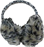 Bon Bonito Furry Winter Ear Warmers for Girl (Animal Print)