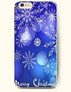 OFFIT iPhone 6 Plus Case 5.5 Inches Crystal Snowflake Ornament