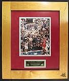 Michael Jordan Signed Auto 8x10 Photo Final Floor Frame UDA BAJ57439