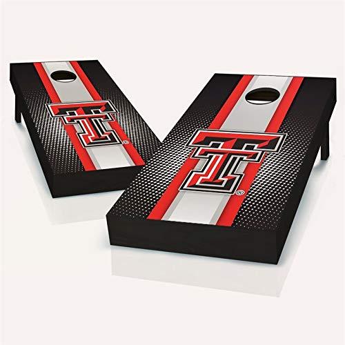 Tech Red Raiders 4 Light - Texas Tech Red Raiders Striped Cornhole Set - 2x4 (24
