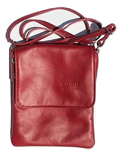 Ashley Shoulder Bag - LaGaksta Ashley Very Small Crossbody Bag Red