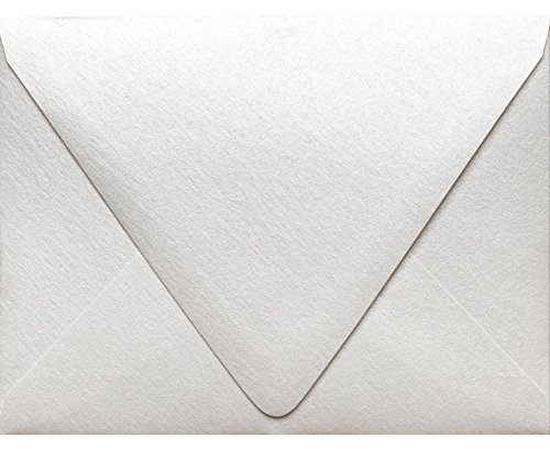 A1 Contour Flap Envelopes (3 5/8 x 5 1/8) - Quartz Metallic (50 Qty.)