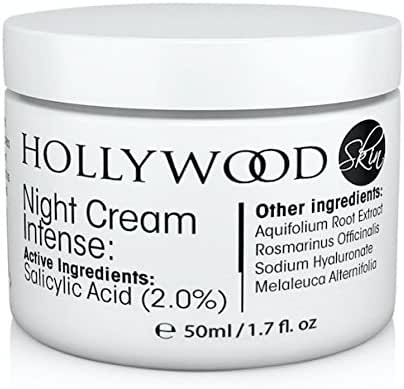 INTENSE Acne Cream - 2% Salicylic Acid!! Night Cream Intense - Overnight acne treatment. 400% STRONGER than regular acne creams. 60ml Bottle