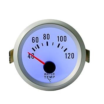 "Sedeta 52mm Calibrador de temperatura del agua con el sensor 40-120 Celsius grado 2"""