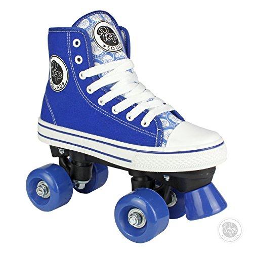 Pop Squad Midtown Girl's and Boy's Roller Skates - Blue (3)