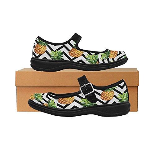 InterestPrint Womens Comfort Mary Jane Flats Casual Walking Shoes Multi 2 cIsvh