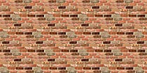 Pacon Fadeless Designs Bulletin Board Art Paper, 4-Feet by 50-Feet, Reclaimed Brick (57465)