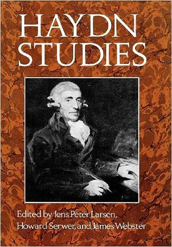 Image result for Haydn studies jens peter larsen howard serwer james webster