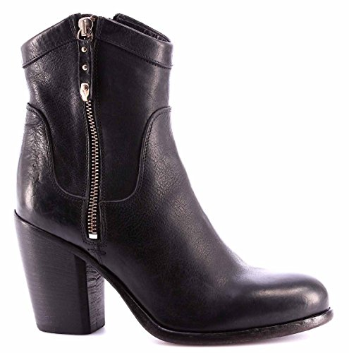 Zapatos Mujer Botines MOMA Ankle Boots 91503-4A Cusna Nero Piel Negro Vintage