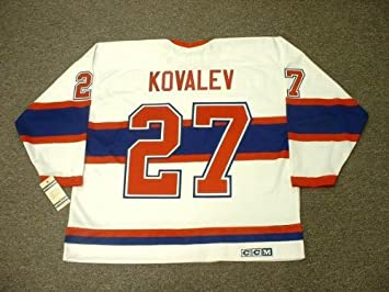 cab1c9ce96b ALEX KOVALEV Montreal Canadiens 1946 CCM Vintage Throwback Home NHL Hockey  Jersey