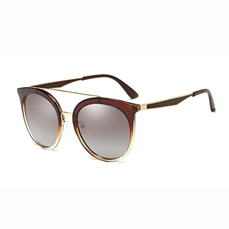 WX xin Luz Polarizada Gafas De Sol Hembra Hipster Vendimia ...