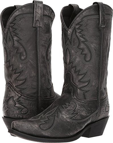 Laredo Men's Garrett Sanded Black Boot ()