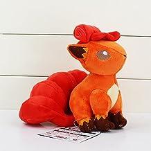 Pokemon Vulpix soft Plush Stuffed Animals Doll Kids Toys 19 cm
