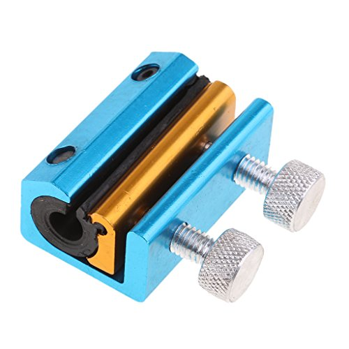 Baoblaze Motorcycle Dual Luber Cable Lube Tool for Clutch/Brake/Throttle Cables - Blue, as described: