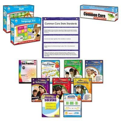 Carson-Dellosa Publishing - Common Core Kit Math/Language Grade 3 ''Product Category: Classroom Teaching & Learning Materials/Reading & Writing Materials''