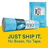 Scotch Flex & Seal Rollo de envío, embalaje simple alternativa a cajas de cartón, sobres de burbujas, bolsas de polietileno, amortiguación, 20 Ft.
